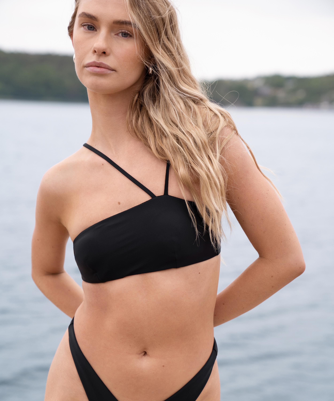 Bandeau bikinitop HKM x NA-KD, Zwart, main