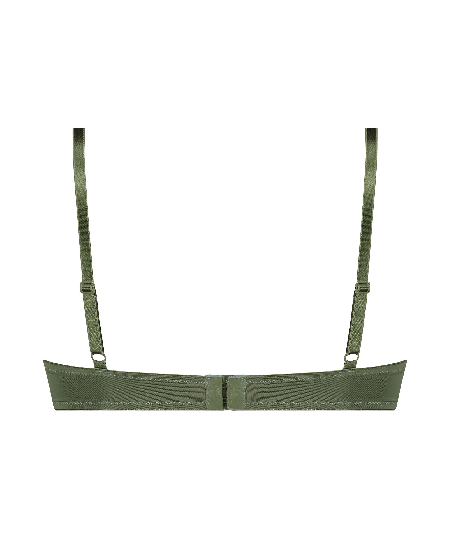 Voorgevormde beugel bh Plunge, Groen, main