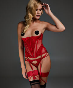 Bustier Avery, Rouge