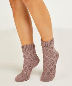 Sokken Knit, Paars