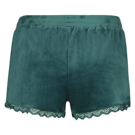 Short Velours Lace, Vert