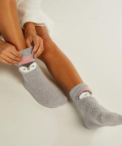 2 paar Cosy sokken Sara, Grijs