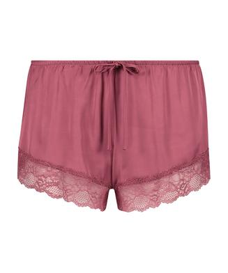 Pyjama short Satin, Rood
