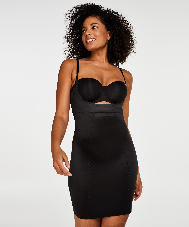 Corrigerende jurk - Level 3, Zwart, main