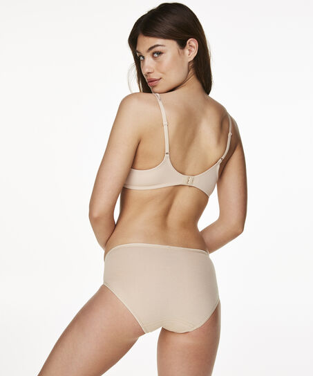 Super slip de bikini coton, Bronzage