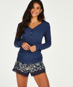 Shorts Jersey, Blauw