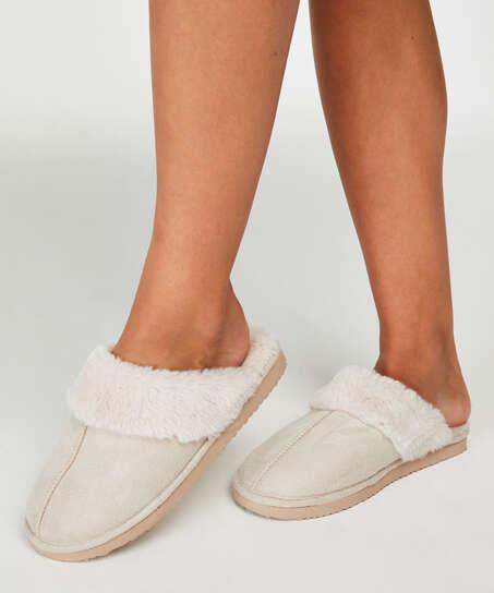 Pantoffels , Wit