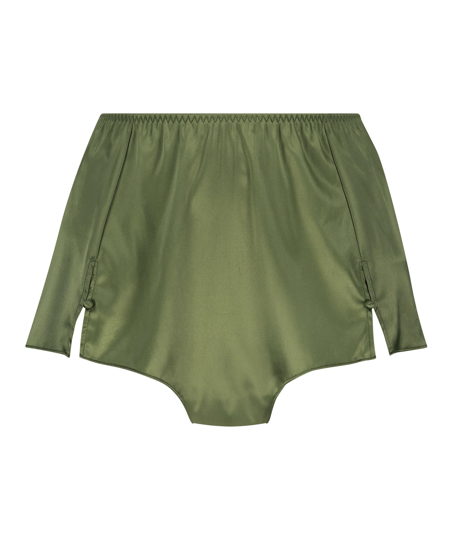 Shorts Satijn Amelia Tap, Groen, main