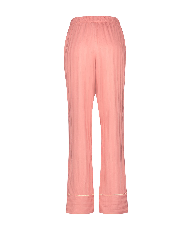 Tall Pyjamabroek Woven, Roze, main
