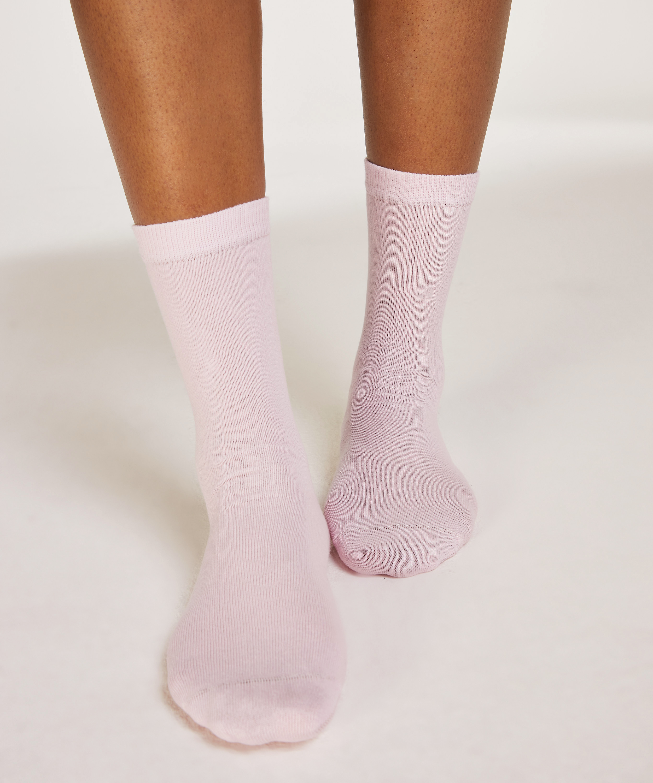2 paar sokken Bow, Zwart, main