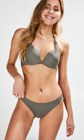 Voorgevormde push-up bikinitop Sunset Dream, Groen