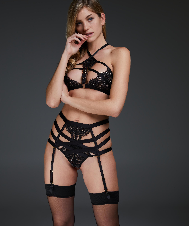Bralette Ivy, Zwart, main