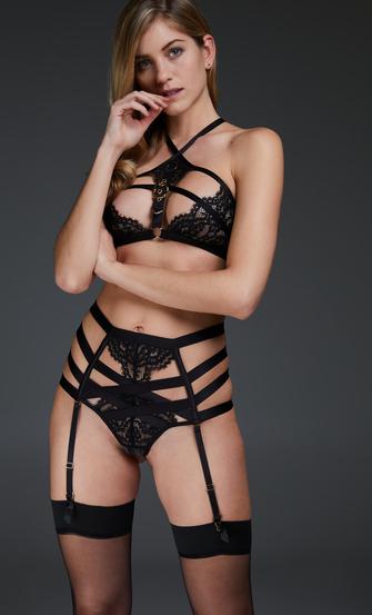 Bralette Ivy, Zwart