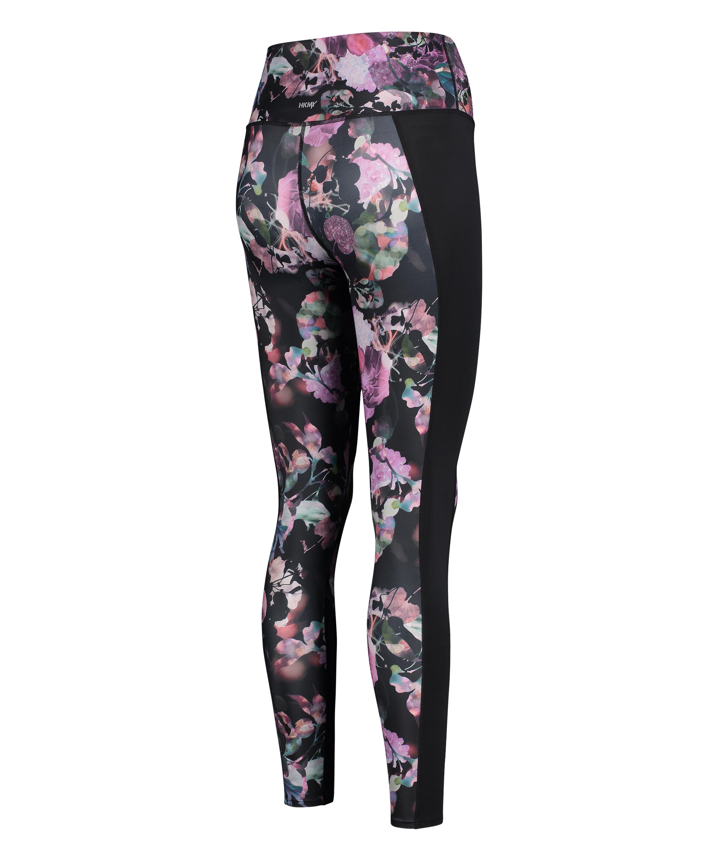 HKMX High waisted sport legging, Zwart, main