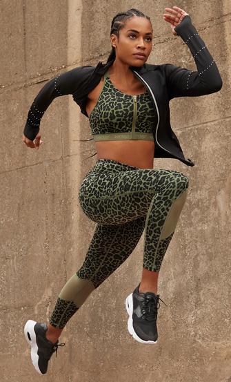 HKMX Legging taille haute Oh My Squat , Vert