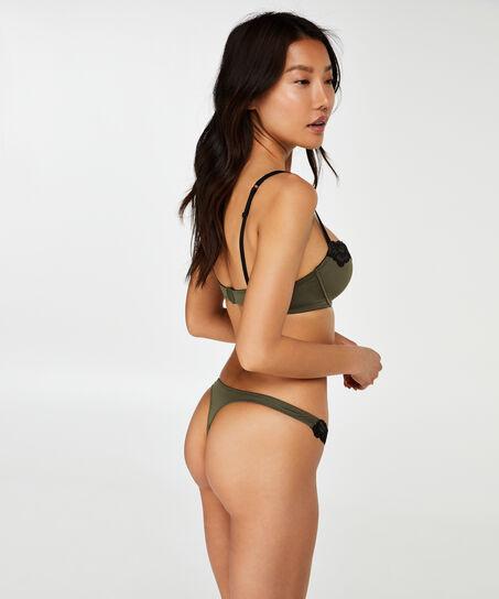Soutien-gorge à armatures préformé Secret Lace, Vert