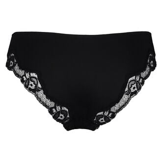 Slip Secret Lace, Noir