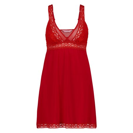 Nuisette Graphic Lace, Rouge