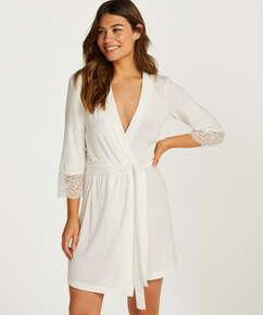 Kimono Vera Lace, Blanc