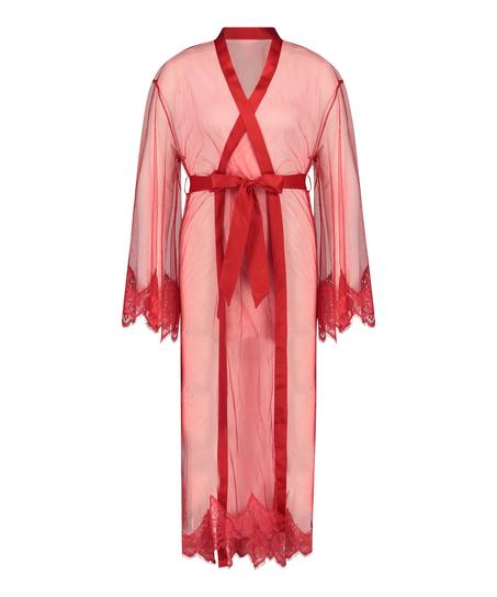 Lange Kimono Cravache, Rood