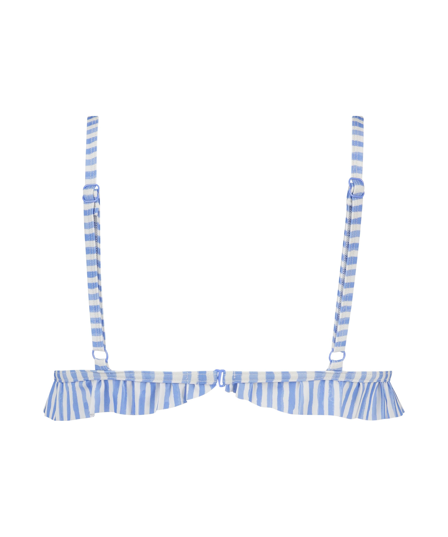 Haut de bikini Triangle Julia, Bleu, main