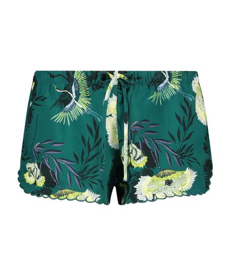 Pyjama shorts, Grijs