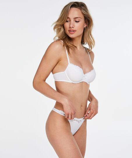 String Secret Lace, Blanc