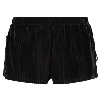 Short velours rib, Groen