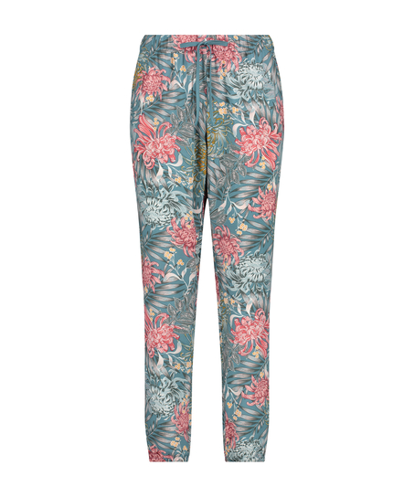 Tall Pyjamabroek Woven, Groen