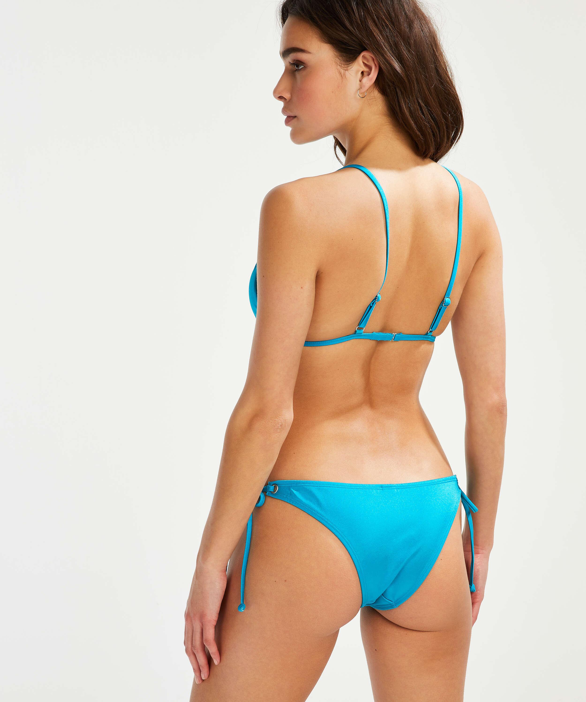 Haut de bikini Triangle Celine, Bleu, main
