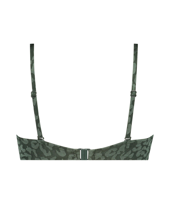Voorgevormde beugel bikinitop Tonal Leo Cup E +, Groen, main