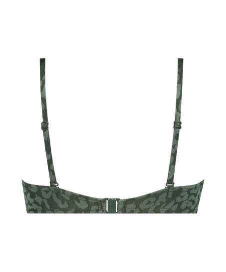Voorgevormde beugel bikinitop Tonal Leo Cup E +, Groen