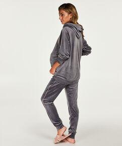 Pantalon de grossesse Velours, Gris