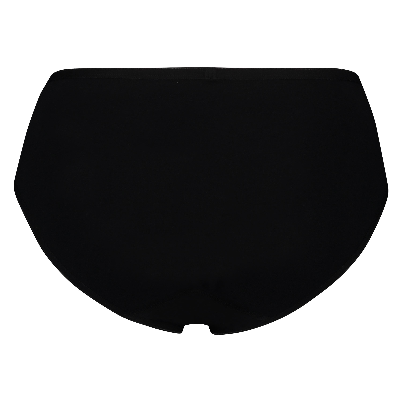 Super slip coton, Noir, main