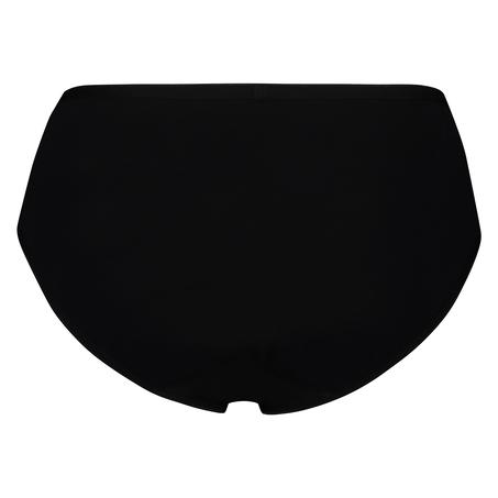 Super slip coton, Noir