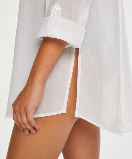 Strand blouse, Wit