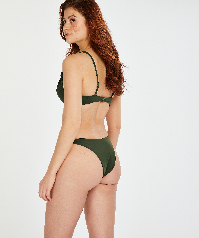 Push-up bikinitop Luxe Cup A - E, Groen, main