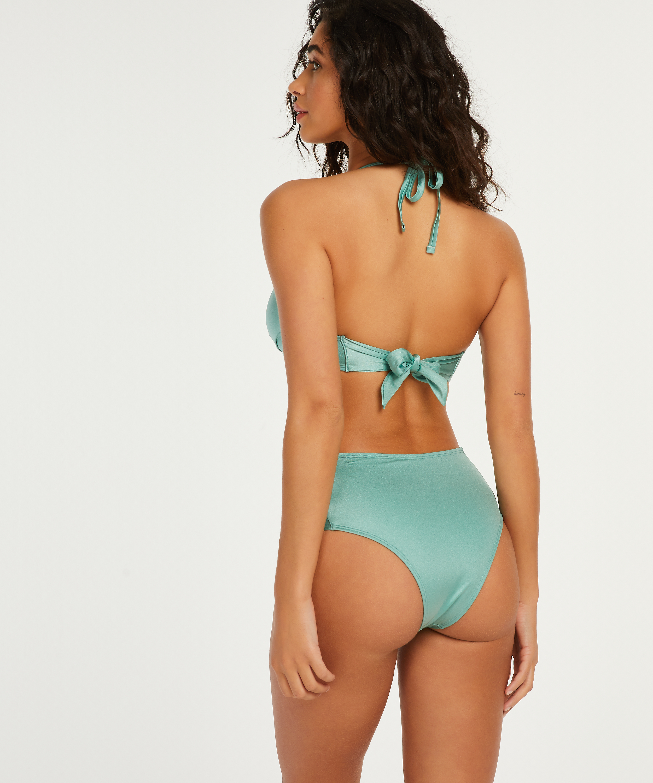 Voorgevormde push-up beugel bikinitop SoCal, Groen, main