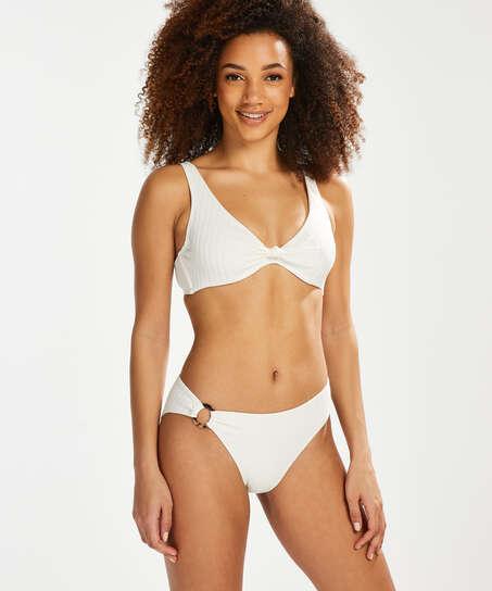 Triangle bikinitop Emily, Wit
