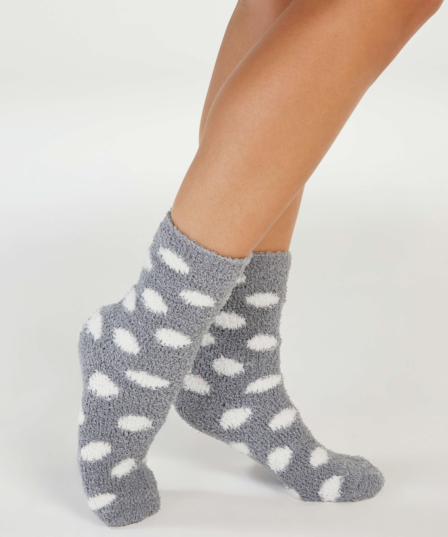 2 paar sokken, Blauw, main