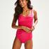 Hoog rio bikinibroekje Luxe, Roze