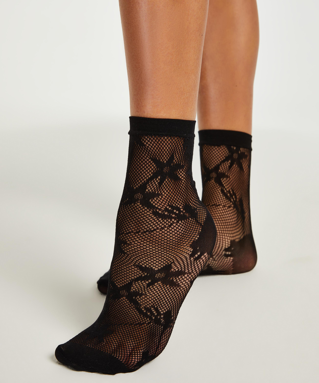 1 paar sokken, Zwart, main