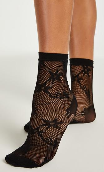 1 paar sokken, Zwart
