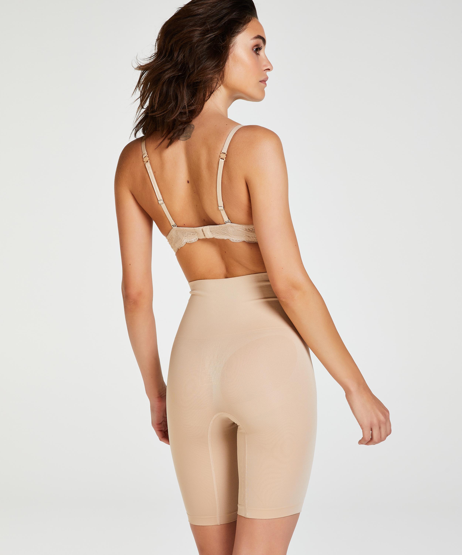 Verstevigende thigh slimmer - Level 2, Beige, main