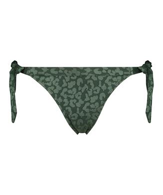 Bas de bikini brésilien Tonal Leo, Vert