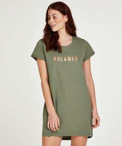 Nachthemd Dreamer, Groen