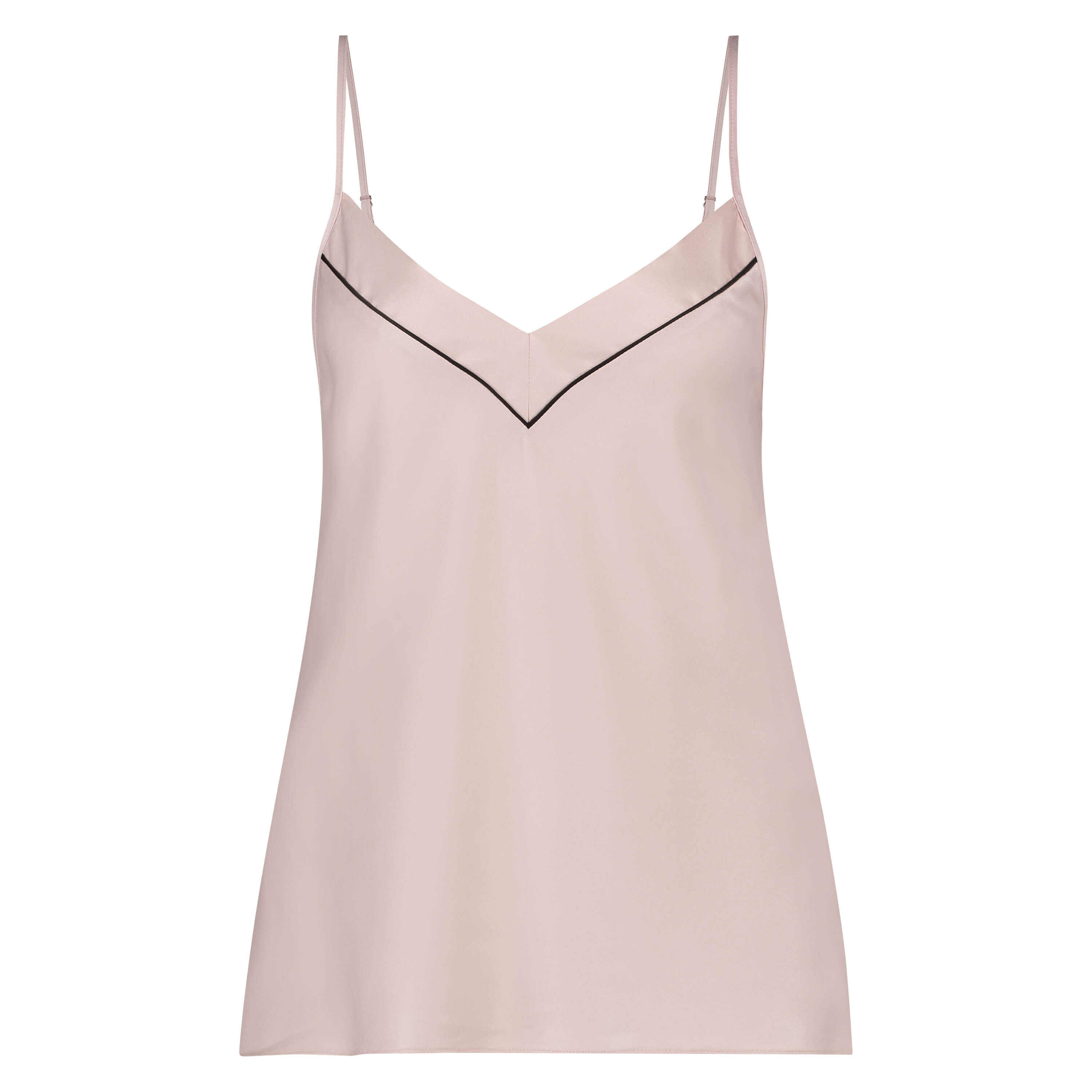 Cami top Satin Bow, Roze, main