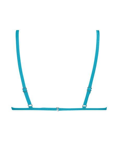 Haut de bikini Triangle Celine, Bleu