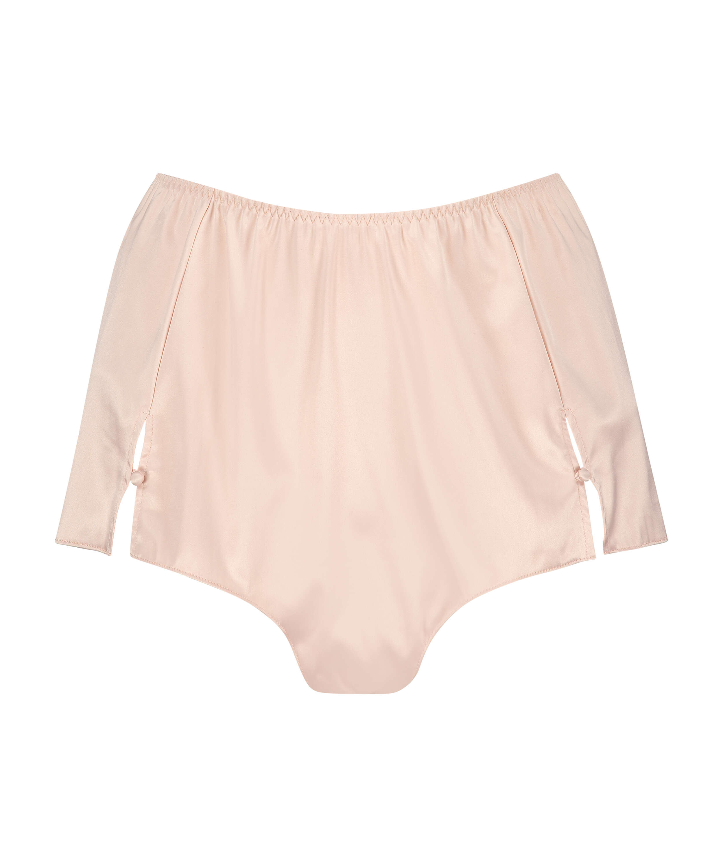 Shorts Satijn Amelia Tap, Roze, main