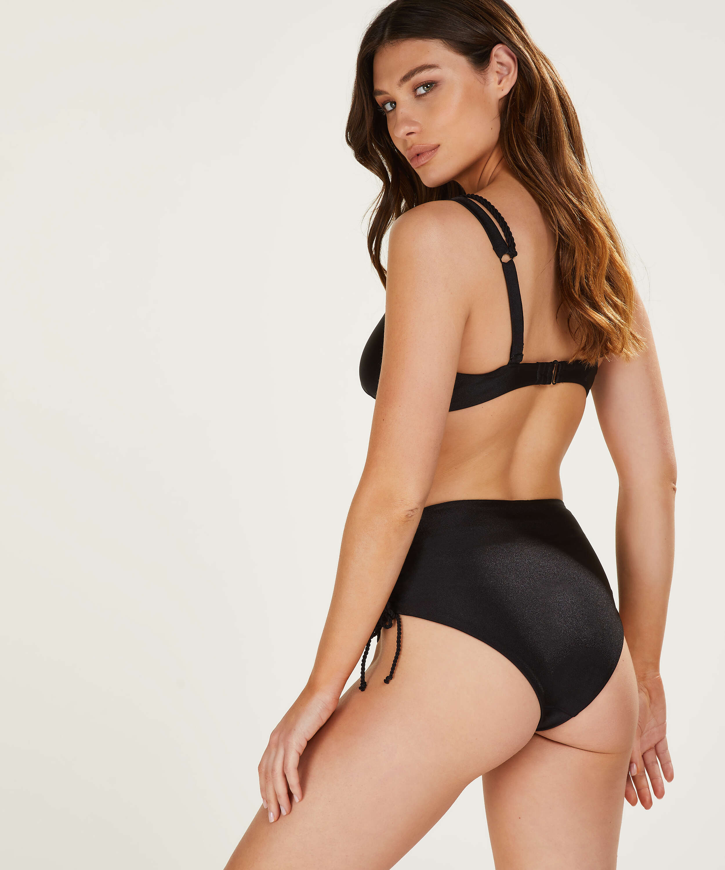 Hoog Brazilian bikinibroekje Lais, Zwart, main